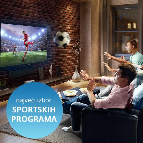 Najveći izbor sportskih programa